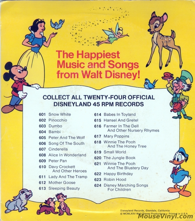 Winnie The Pooh And The Blustery Day By Disneyland Records