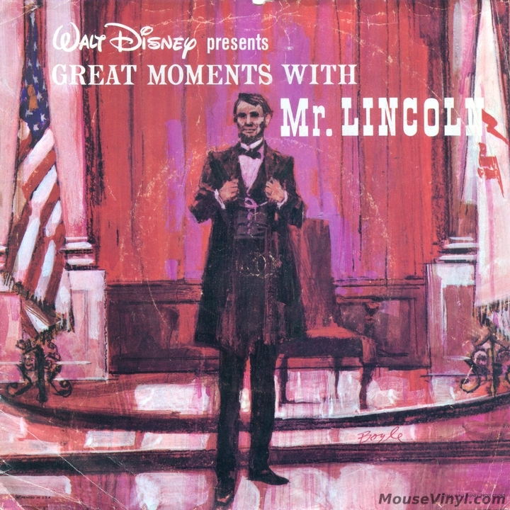 Great Moments With Mr Lincoln By Buena Vista Records