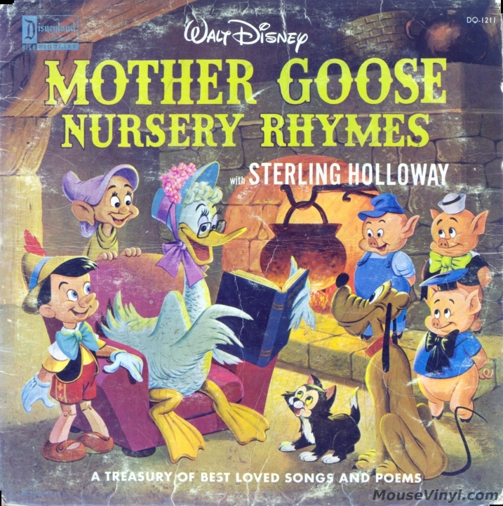 Mother Goose Nursery Rhymes With Sterling Holloway By