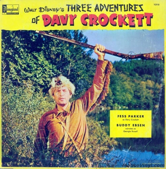 Walt Disney S Three Adventures Of Davy Crockett