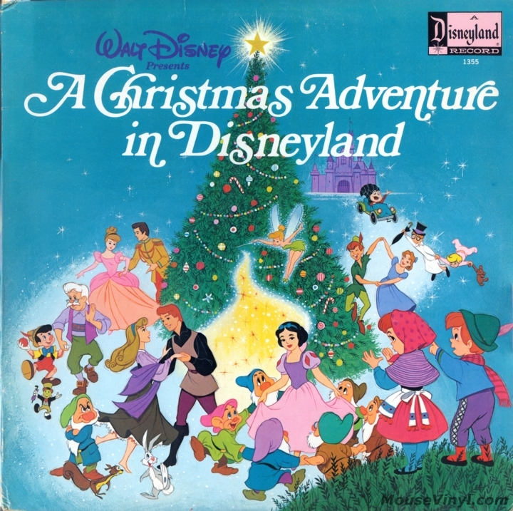 A Christmas Adventure in Disneyland by Disneyland Records ...