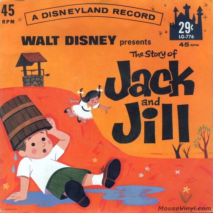Walt Disney Presents The Story Of Jack And Jill By