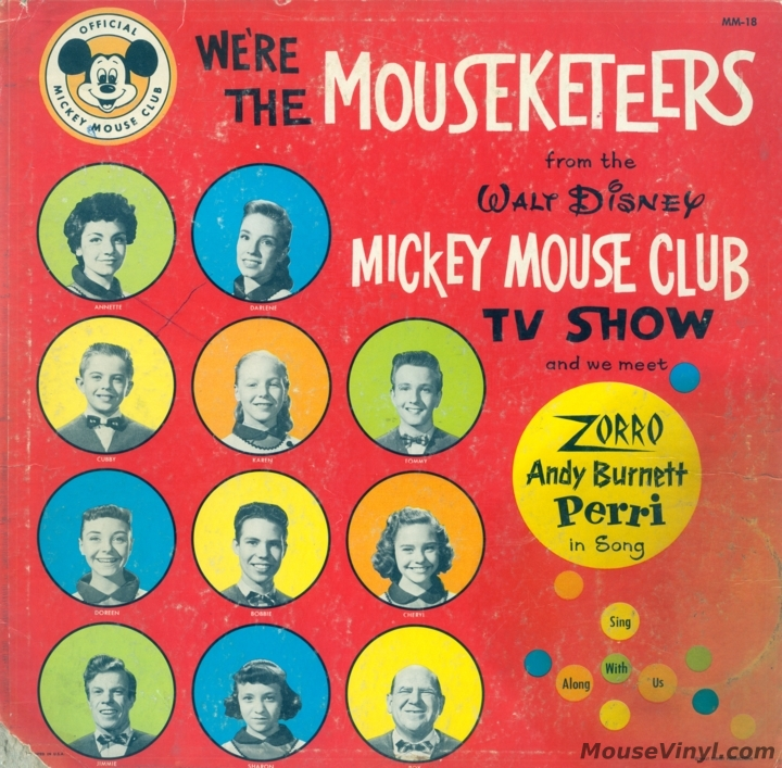 We Re The Mouseketeers From The Walt Disney Mickey Mouse Club Tv