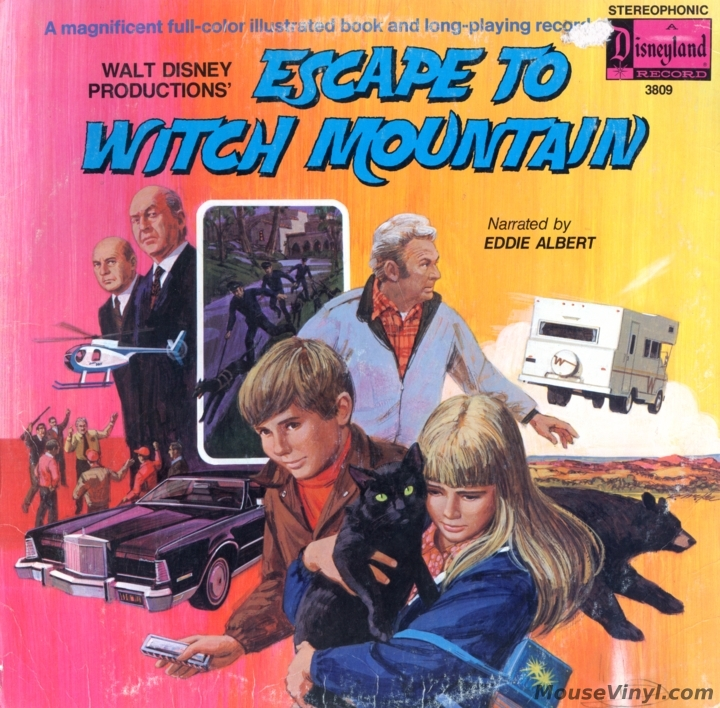 Escape To Witch Mountain By Disneyland Records