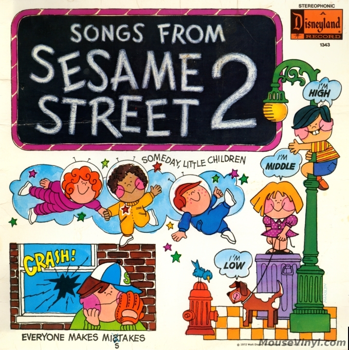 Songs from Sesame Street 2 by Disneyland Records